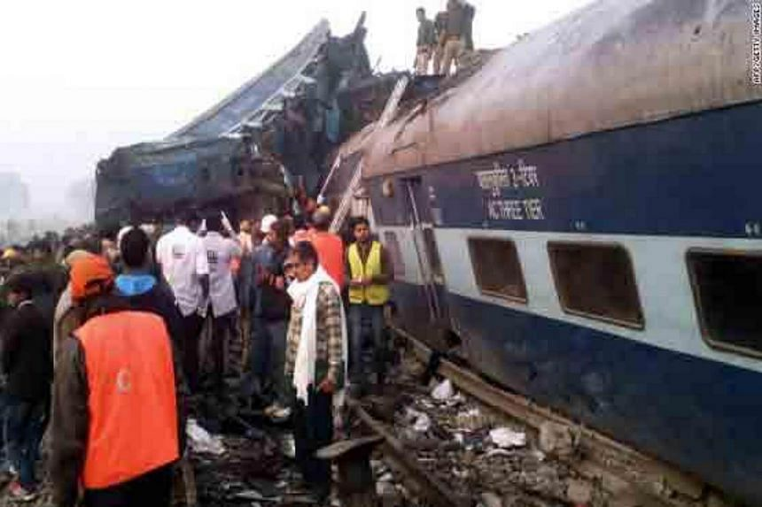 At least 23 people were killed and around 100 injured after an express train derailed in southeast India Saturday night in the latest disaster to hit one of the world's largest rail networks.