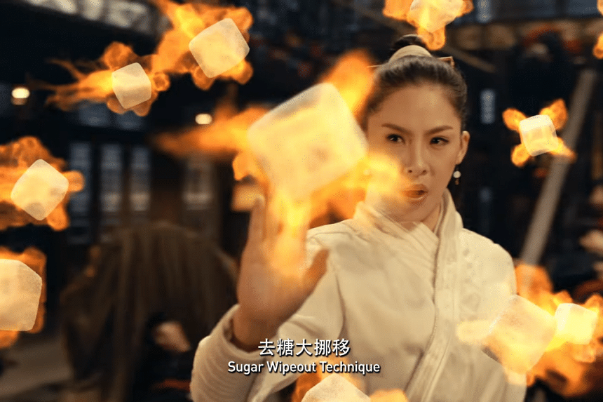 Kungfu Fighter, Hidden Sugar, a 90-second clip on the evils of sugar in New Year goodies has got more than 1 million views as of Monday evening.