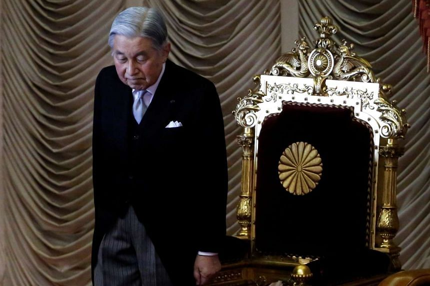 Japan could pass a one-off Bill allowing Emperor Akihito to step down, a government panel said on Monday (Jan 23).