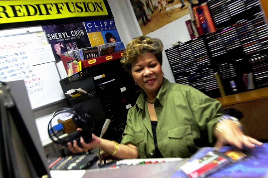 Radio veteran Juanita Melson worked as a DJ and later as a programme manager for Rediffusion, Singapore's only cable radio stations when it was set up in 1949.