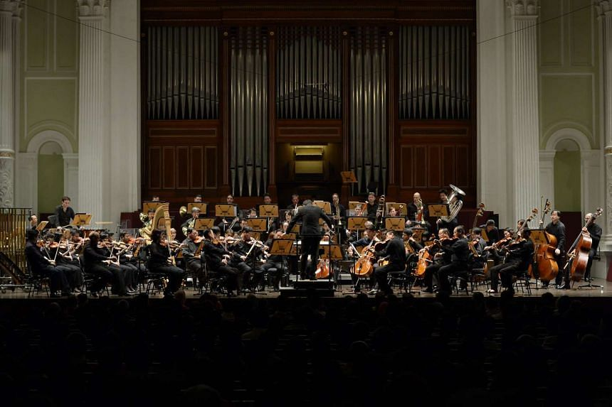 File photo of the Singapore Symphony Orchestra.