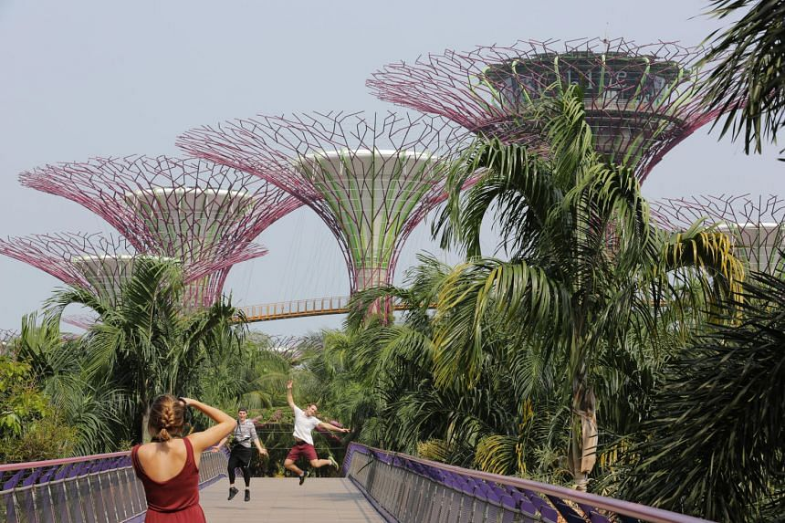 There are many places both near and far, where you can take your OOTDs this Chinese New Year. The Gardens by the Bay is among our humble picks.