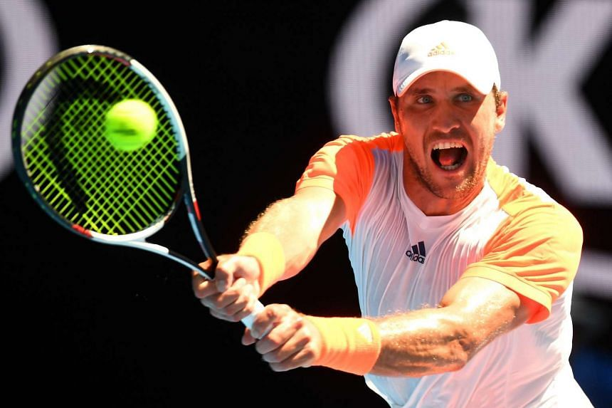 Mischa Zverev, the German who inflicted the pain on Andy Murray over four sets in the fourth round.
