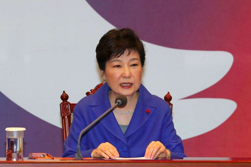 South Korea's Saenuri party is to change its name for the second time in five years, as it seeks to dissociate itself from the corruption scandal surrounding impeached President Park Geun Hye (above).