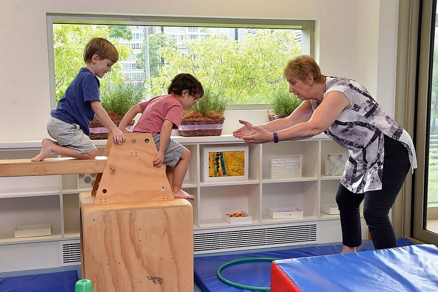 Ms Connell believes children learn through play, new experience and creativity. Her Smart Steps programme integrates numeracy, literacy and language learning with physical play.