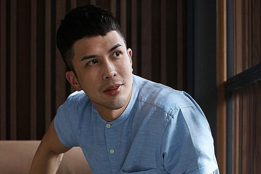 Teddy Tang (above), who is in Channel 8 drama Dream Coder, hopes to be the first Singaporean to act in a Marvel superhero franchise. A cobblestone road in Paris.