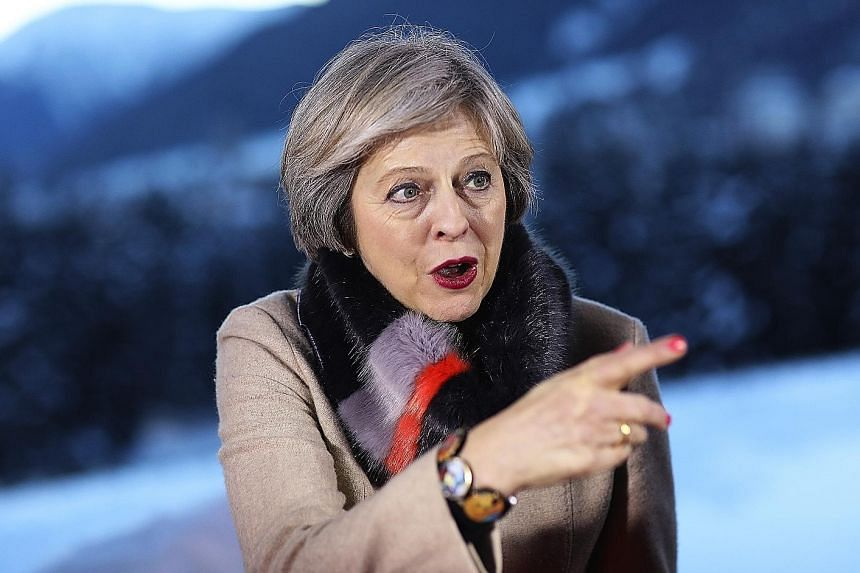 Mrs May has said she will stress her desire for continued cooperation between Britain and its continental partners during her talks with Mr Trump.