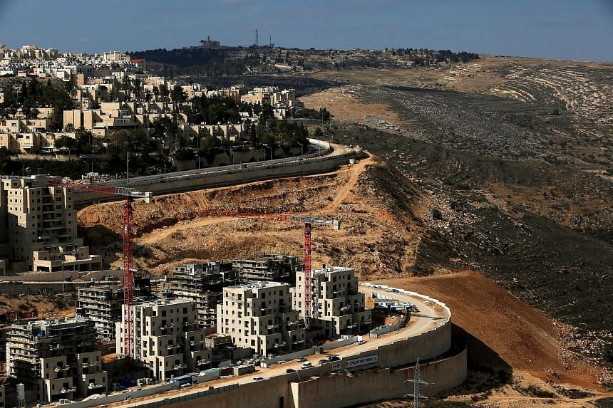 The urban settlement of Ramot where Israel will build homes is an area annexed to Jerusalem in a move unrecognised internationally. Israel yesterday approved building permits for more than 560 units in three East Jerusalem settlements, expecting US P