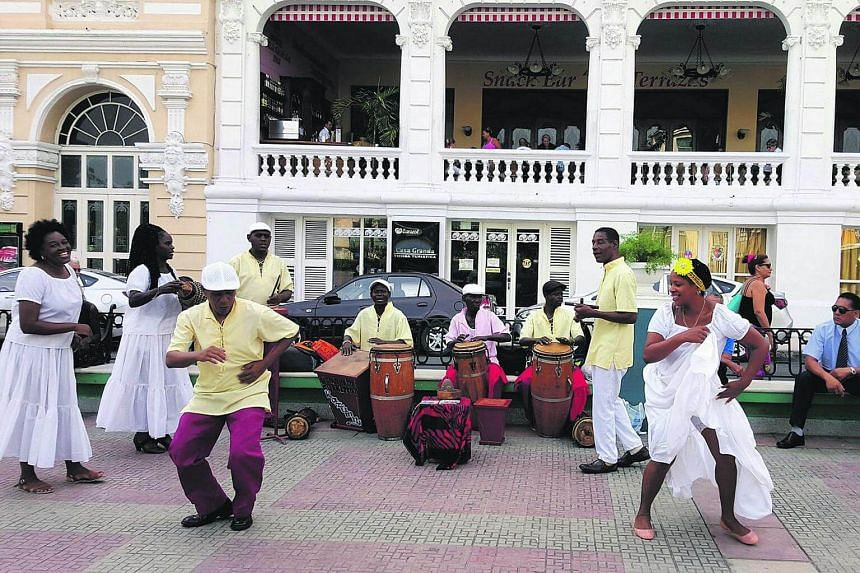 The rhythm is going to get you - Afro-Caribbean style in Santiago de Cuba.
