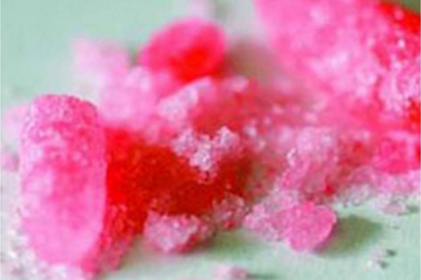 Recent online reports about a new strawberry-flavoured methamphetamine targeted at the young have been circulating in social media.