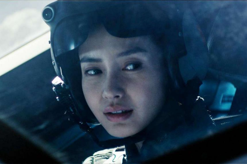 Angelababy (above) in Independence Day: Resurgence.