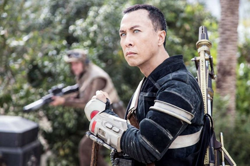 Donnie Yen (above) in Rogue One: A Star Wars.