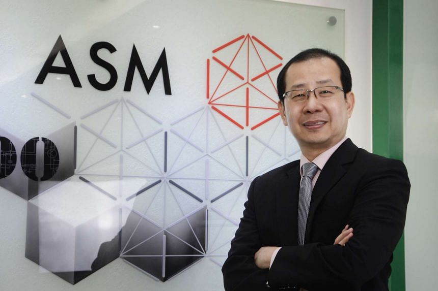 Mr Robin Ng, group chief financial officer of ASM Pacific Technology, sees positive developments in the US, China and Europe that will help boost orders.