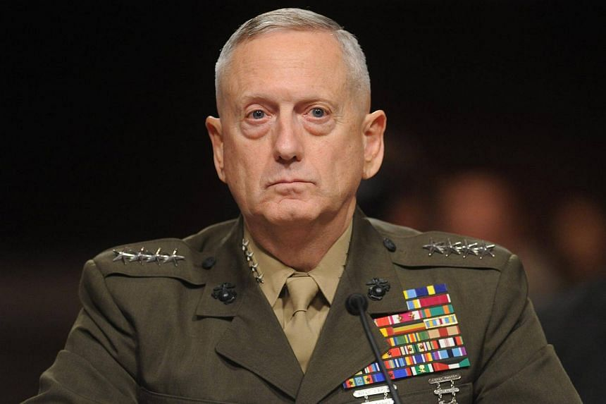 Marine Corps General James Mattis appearing before the Senate Armed Services Committee hearing on his nomination for Commander of the United States Central Command, on Capitol Hill in Washington DC, on July 27, 2010.
