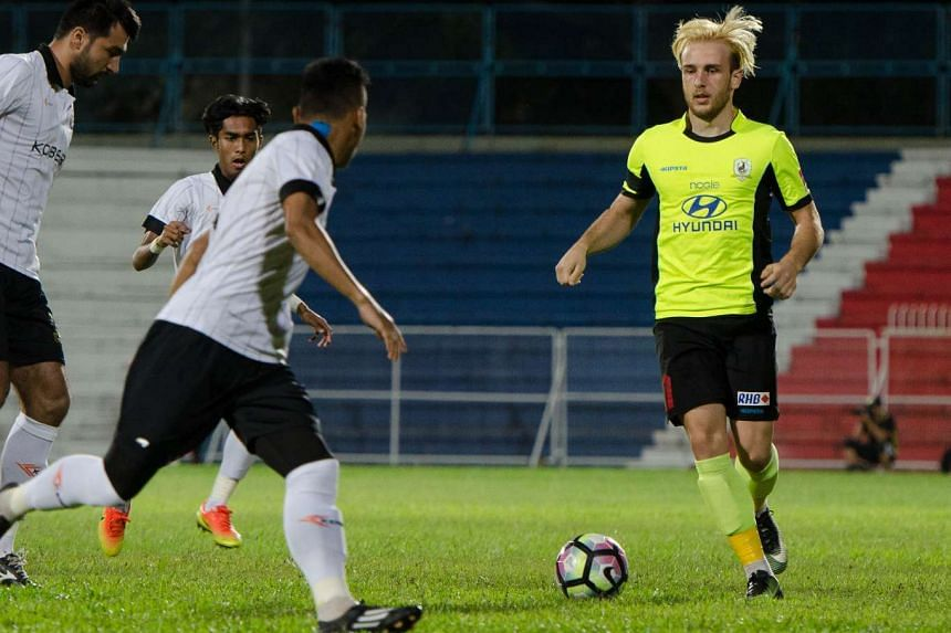 Tampines Rovers are out of the Asian Football Confederation Champions League after losing 2-0 to Global FC of the Philippines.