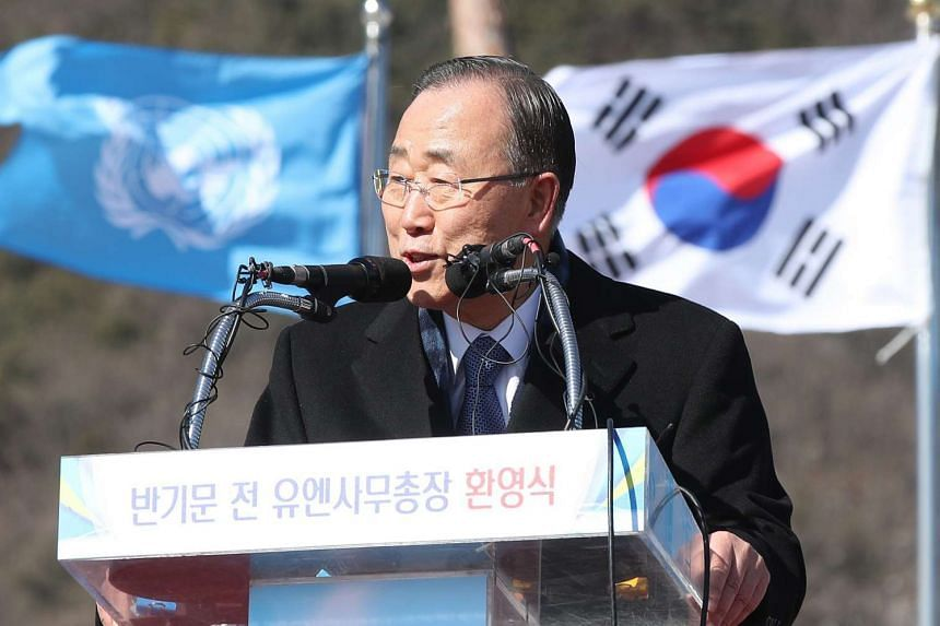 Former UN chief Ban Ki Moon, once the odds-on favourite to be the next South Korean president, has been ensnared in a family corruption scandal and struggled with a sceptical press.