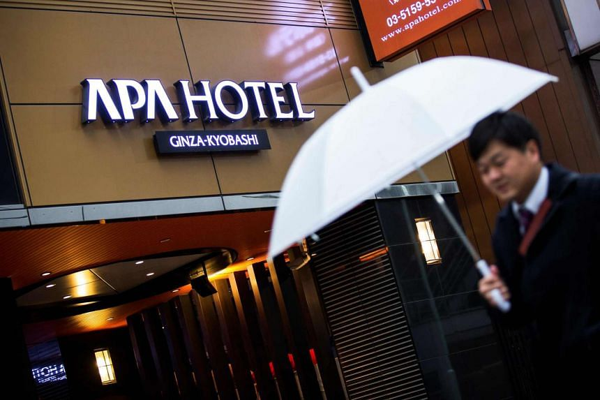 China's tourism administration has urged tour operators to sever ties with Japanese hotel chain APA Group.