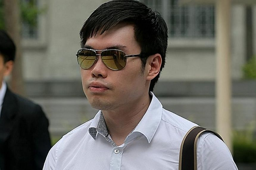 Businessman Mark Tan Peng Liat is accused of culpable homicide for the death of his father on Feb 10, 2015.