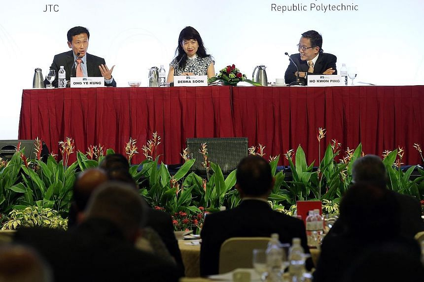 The Institute of Policy Studies' panel session saw Mr Ong and Mr Ho discuss whether rule by a single political party is best for Singapore. The panel also addressed the possibility of Singapore having a two- or multi-party system. The discussion was