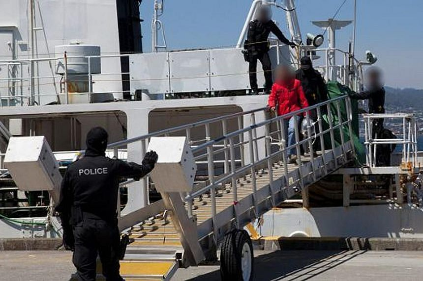 The Australian authorities raided a former whaling vessel on Dec 12 and seized about 180kg of cocaine worth more than A$60 million. They arrested a Singaporean man and nine Chinese nationals on board. Six Australians were later nabbed in connection w