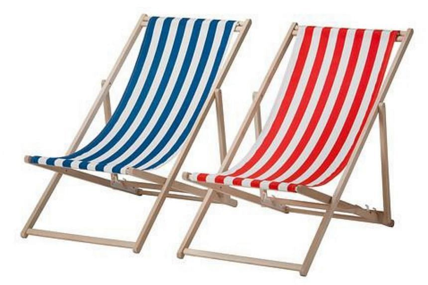 There were reports of injuries suffered due to the incorrect reassembly of Ikea's Mysingso beach chair.