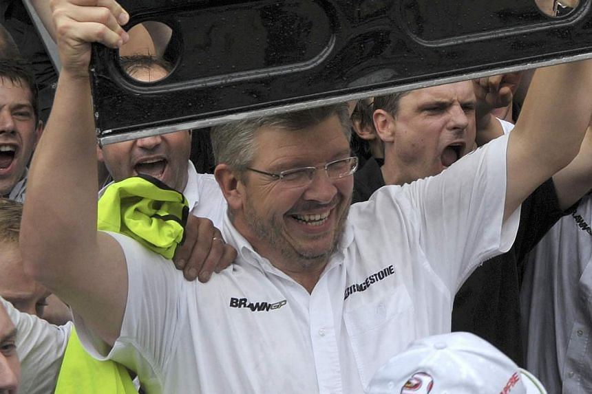 Ross Brawn stepped back into the Formula One arena on Monday in the new role of managing director for motorsport.