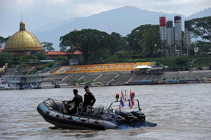 The section of the Mekong River that forms the Thai-Lao border could be cleared under plans to make it passable for larger ships.