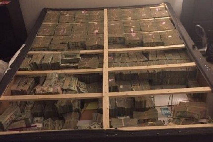 The cash is believed to be part to be linked to a US$1billion pyramid scheme.