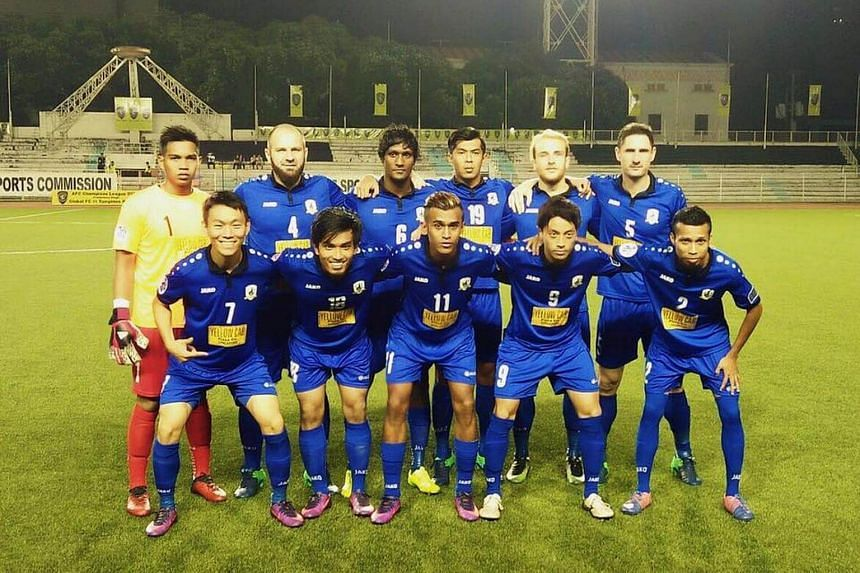 Tampines Rovers crashed out of the Asian Football Confederation (AFC) Champions League qualifying round after losing 2-0 to Global FC.