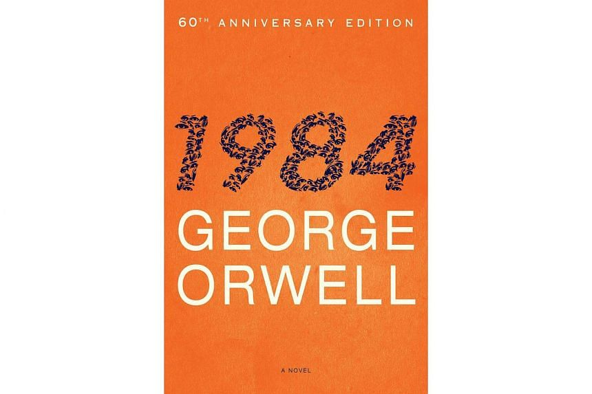 """George Orwell's """"1984"""" novel features a devious """"Big Brother"""" government that spies on its citizens and forces them into """"doublethink,"""" or simultaneously accepting contradictory versions of the truth."""