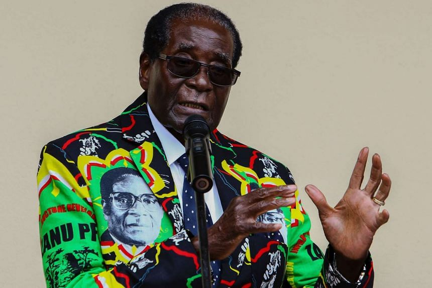 Zimbabwe's economy stagnated last year, fanning anti-government protests and compounding President Robert Mugabe's problems ahead of national elections due in 2018.