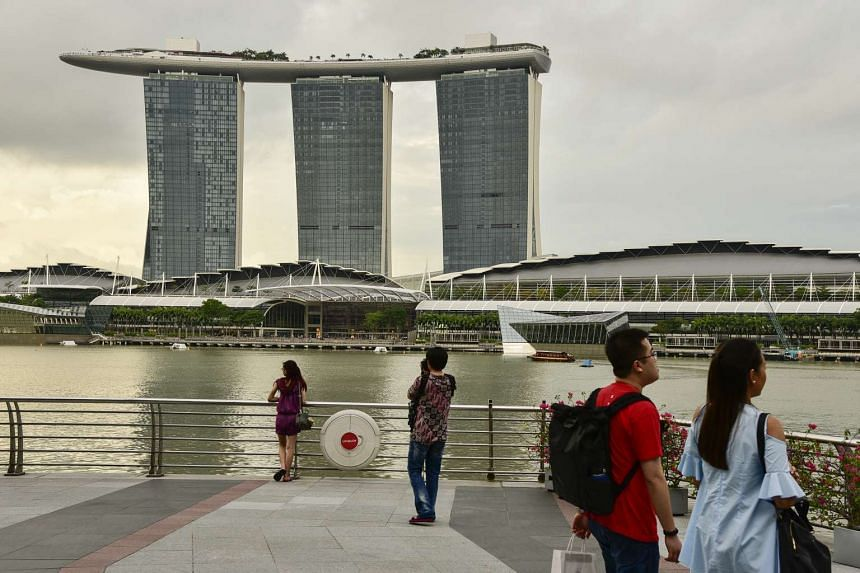 Marina Bay Sands reported a net profit of US$366 million (S$519.4 million) in the Oct-Dec quarter - an 8 per cent rise year on year.
