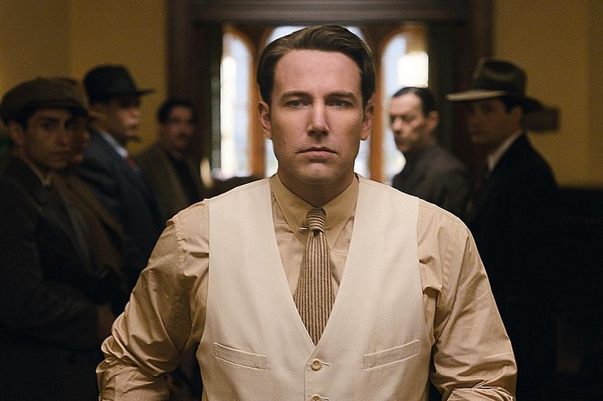 Ben Affleck directs and stars in Live By Night.