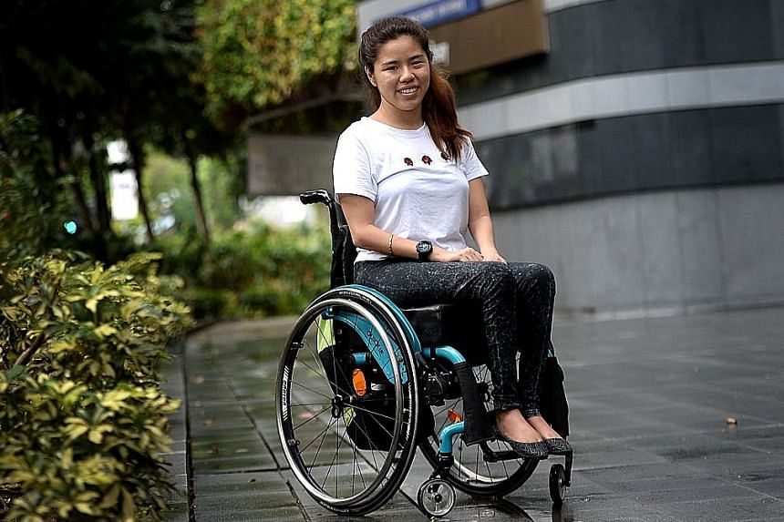The Straits Times Athlete of the Year nominee Yip Pin Xiu. At Rio last year, after quelling doubts about her times at a training camp in Spain, she became the first Singaporean to win two gold medals at a Paralympic Games.