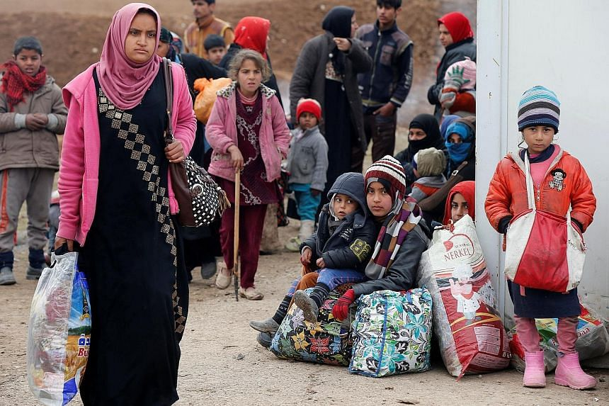 According to the UN, more than 180,000 people have been displaced since the start of the offensive against ISIS in east Mosul but at least 22,000 have returned to their homes. Hundreds of families who fled the Iraqi city left displacement camps this