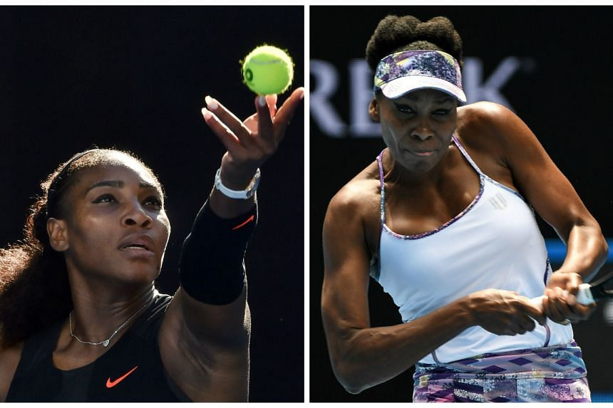 Serena Williams (left) zeroed in on a record-breaking 23rd Grand Slam title by setting up an Australian Open final against her older sister Venus.