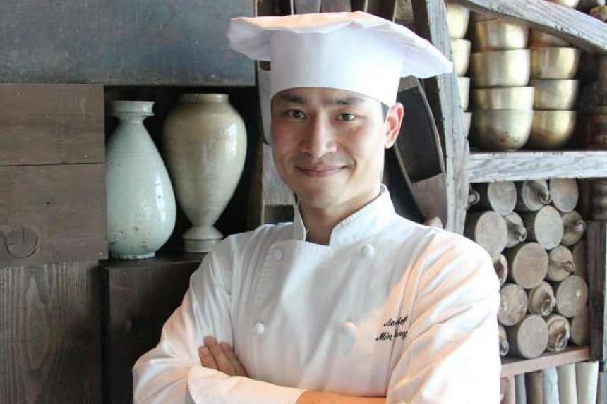South Korean chef Alex Kang is in Singapore for the first time to cook at Grand Hyatt Singapore's Mezza9 restaurant as part of gastronomic food series, Asian Masters.