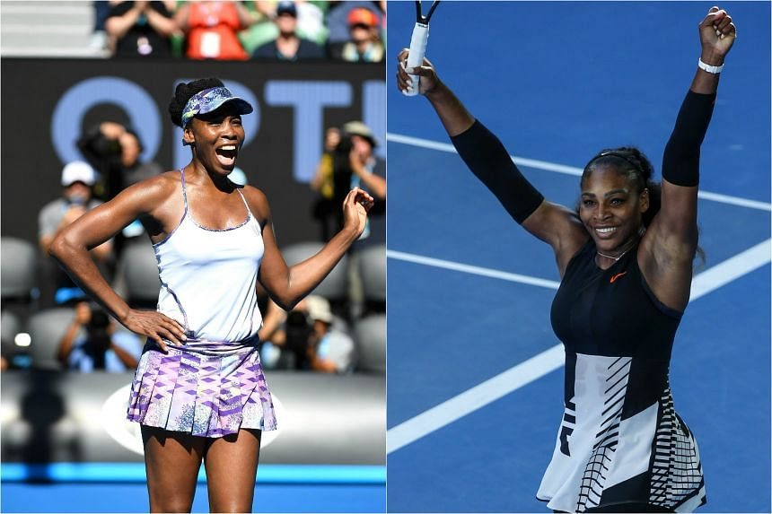 Venus (left) and Serena Williams have made it to the 2017 Australian Open women's singles final.