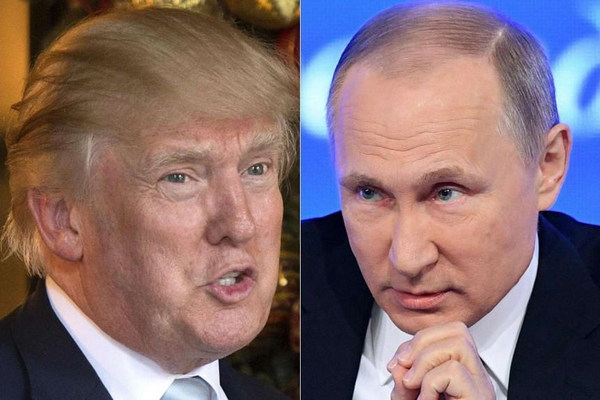 Russian President Vladimir Putin and US President Donald Trump are expected to talk by telephone this Saturday (Jan 28).