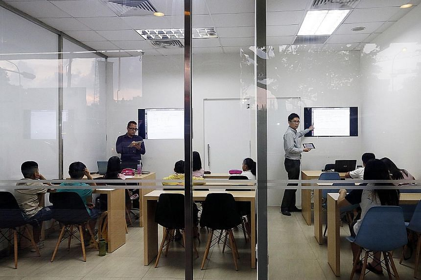 """Tuition centres are upping their game to stand out and at least one offers a money-back guarantee if parents are not satisfied. """"Setting up this association is the first step to formalise this respectable trade,"""" said its secretary, Mr Gary Ang."""