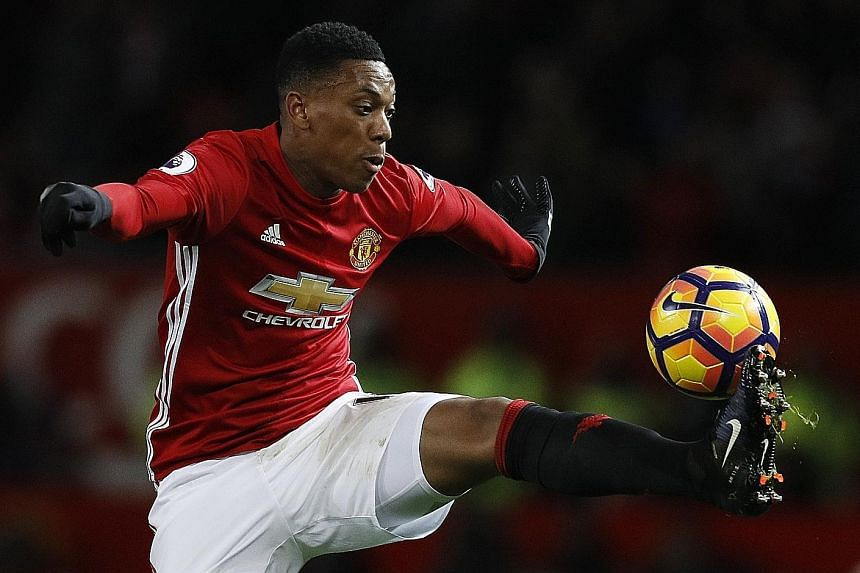 Forward Anthony Martial is under the cosh at Old Trafford, having struggled to impress Manchester United manager Jose Mourinho so far this season. The France international was left out of the Premier League match-day squad against Stoke City and has