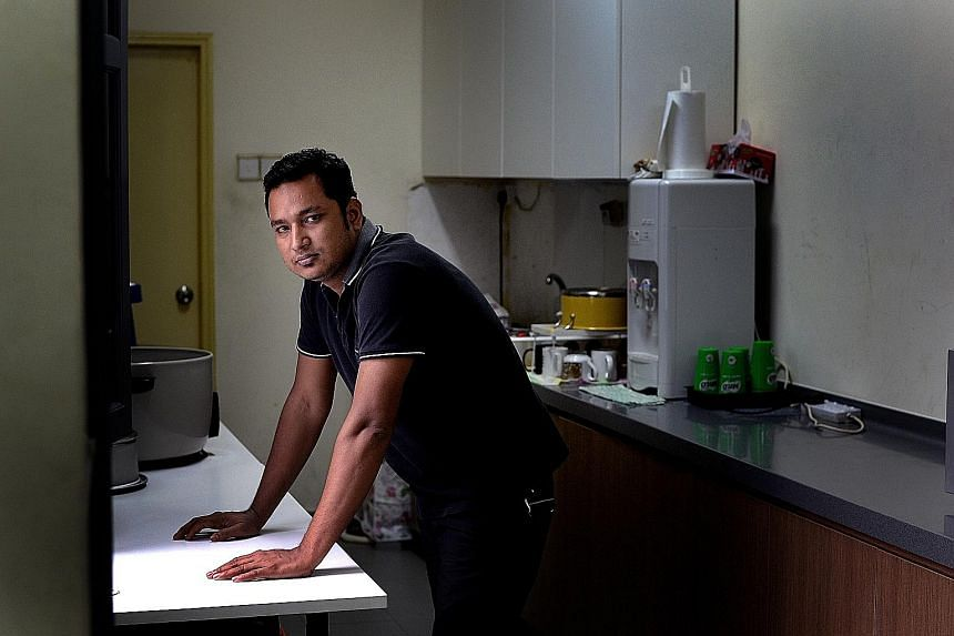 A fall in 2015 left Mr Sujan Ahmed with permanent elbow and back injuries. His employer has refused to make good on the $9,145 in compensation that he is owed.