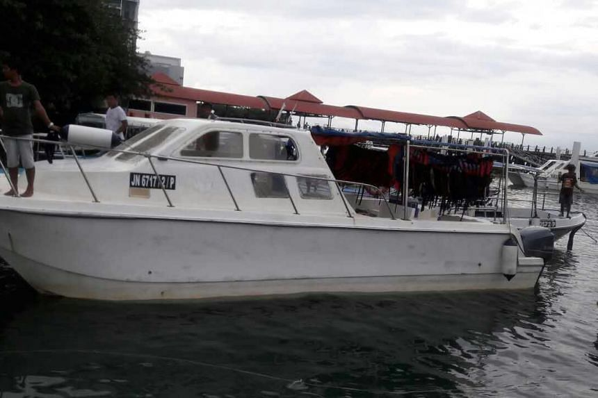 A file photo of the missing catamaran.