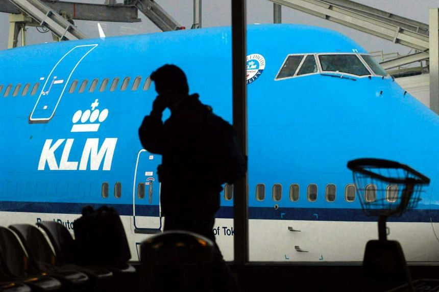 A KLM spokeswoman declined to specify which countries the passengers came from or where they were flying from.