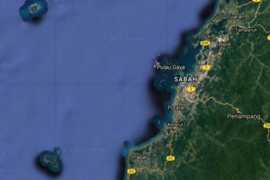 The catamaran with a skipper and two crewmen had departed from a jetty in Tanjung Aru at about 9am.