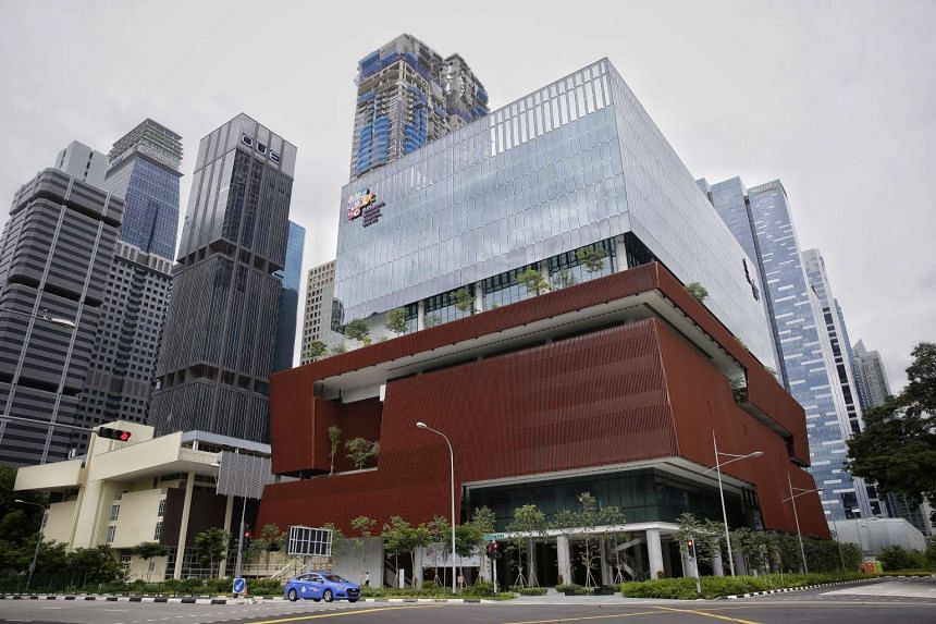 The facade of the Singapore Chinese Cultural Centre on Jan 30, 2017.