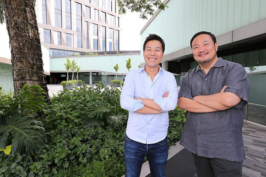 Savourworld is a $10-million joint venture between events company Savour's executive director Darren Chen (far left) and Mr Michel Lu, executive chairman of boutique consultancy Revolver Asia.