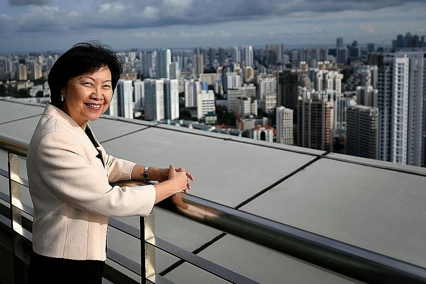 """Dr Cheong has won a brace of international awards in urban planning, including the Urban Land Institute's J. C. Nichols Prize for Visionaries in Urban Development. She intends to use the prize money to """"start a modest scholarship or bursary encouragi"""