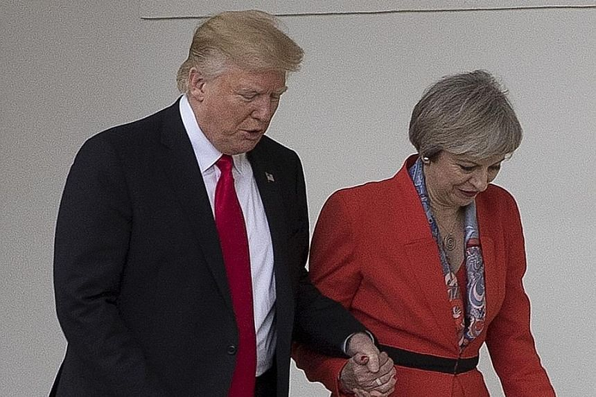"President Trump made his debut as a statesman last Friday, with Mrs May the first foreign leader to visit his White House. The British PM has been keen to secure an early commitment to the UK-US ""special relationship"" from Mr Trump."