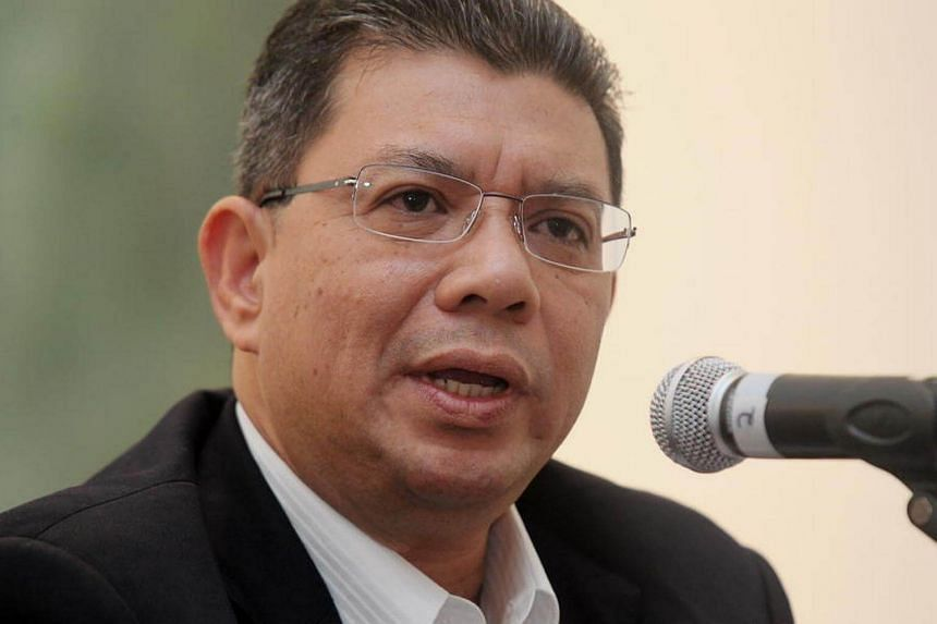 "Datuk Saifuddin Abdullah, chief secretary of the opposition Pakatan Harapan (PH) alliance, said Malaysians should protest against the ban as ""it is against religious freedom and human rights""."